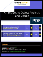 An Insight to Object Analysis and Design_INTL