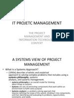 2 It Projetc Management