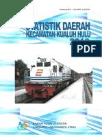 Statistik Daerah Kecamatan Kualuh Hulu 2016