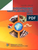 Indikator Kesejahteraan Rakyat Kabupaten Labuhanbatu Utara 2015