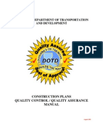 Const Plans QC-QA Manual