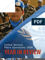 UN Peace Operations 2009