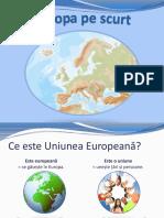Europa Pe Scurt