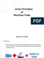 Economic Principles of Maritime Trade
