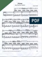 Vivaldi's Winter for Recorder and Piano