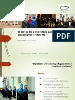 Protocolo Universitário Portugues - Artur Filipe Dos Santos - UNED