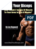 Blast Your Biceps Intro