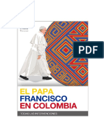Papa Francisco Colombia