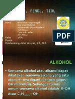 Alkohol, Fenol, Tiol