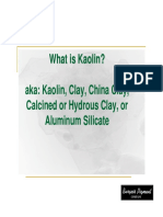 What is Kaolin