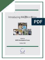 Introducing KAIZEN in Africa 2