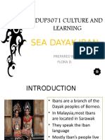 Edup3071 Culture and Learning - Iban Culture
