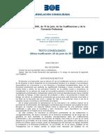 LO 5-2002 Cualificaciones y Formación Profesional