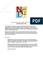 Ncdj Reporting Disability Style Guide 2015