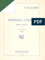 Villa-Lobos, Heitor - Modinhas e canções (2º álbum)