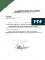 Casa Russa Paraná Brasil - CARTA de Recomendação STEPHANES JR UNICONF - Deputado Ficha Limpa