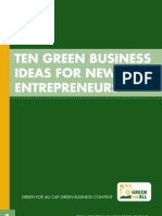 10 Green Business Ideas
