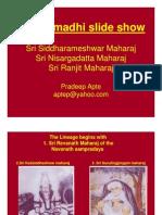 The Samadhi Slide Show
