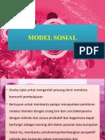 Model Sosial