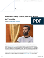 Almeida - 2015 - Entrevista Adirley Queirós , Diretor de Branco Sai Preto Fica
