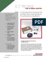 9300-Usbs Usb to Serial Adapter - Gmsc10-Pp006a-En-e