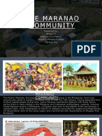 The Maranao Community