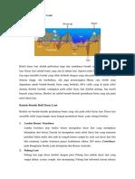 Pengertian Relif Dasar Laut