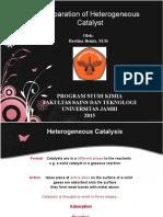 Catalyst Preparation-Restina Bemis