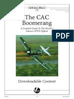 CAC-13 Boomerang Model