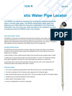 RD500 Plastic Water Pipe Locator Rebrand