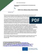 EWET Survey Client Feedback March 2018