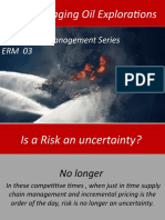 Risk Managing Oil Explorations ERM-03