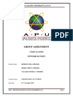 Group Assignment Network Security
