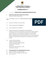 Proyecto Subvención Municipal