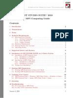 MPI Computing Guide