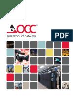 Occ - 2012 Product Catalog