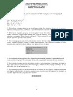 Exercicios Linguagem Python
