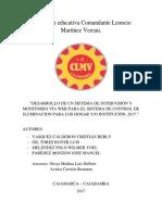 Institución Educativa Comandante Leoncio Martínez Vereau