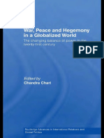 Chandra Chari (Ed.) War Peace and Hegemony