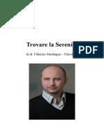 Trovare la Serenità - dr. Fabrizio Mardegan