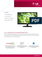 LG LED Monitor E2041T Specification