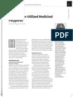 Three Under-utilized Medicinal Polypores
