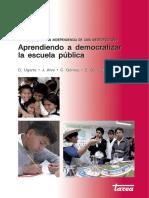 Aprendiendo a Democratizar La Escuela 2006 - Ugarte, Alva y Gomez