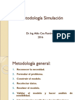 Metodología Simulación