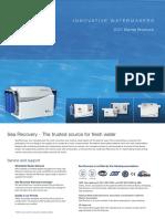Sea Recovery Marine Brochure