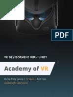 Workshop 0 Vr Development With