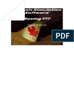 PSS B777 Panel Manual
