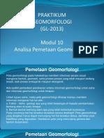 Modul 10 - Analisa Pemetaan Geomorfologi ITB