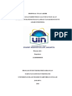 Proposal Penelitian Tugas Akhir Bagaskara 11160980000038