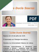 Luísa Ducla Soares-